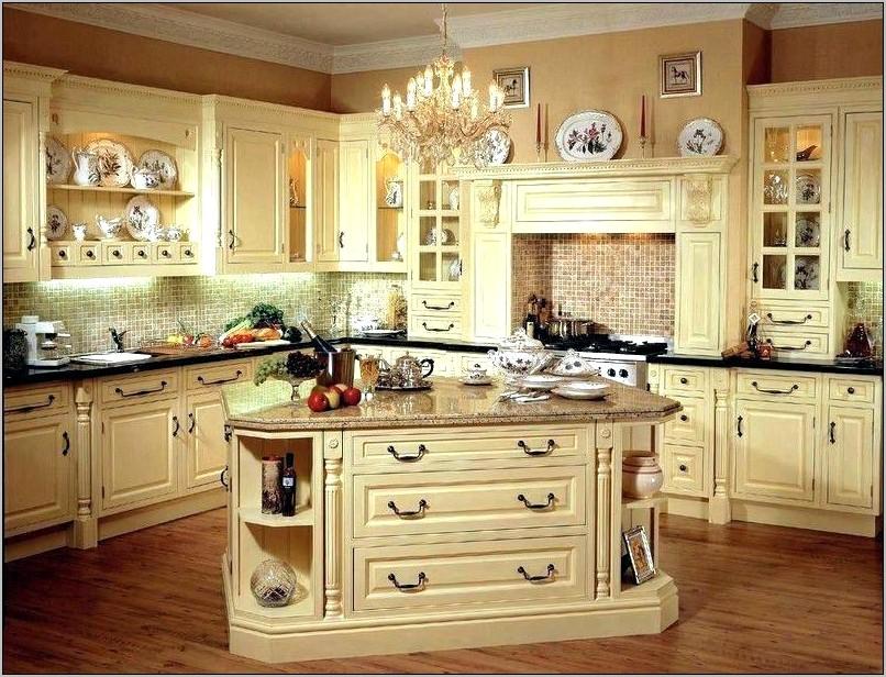 Decorating Kitchens With Black Brown Granite