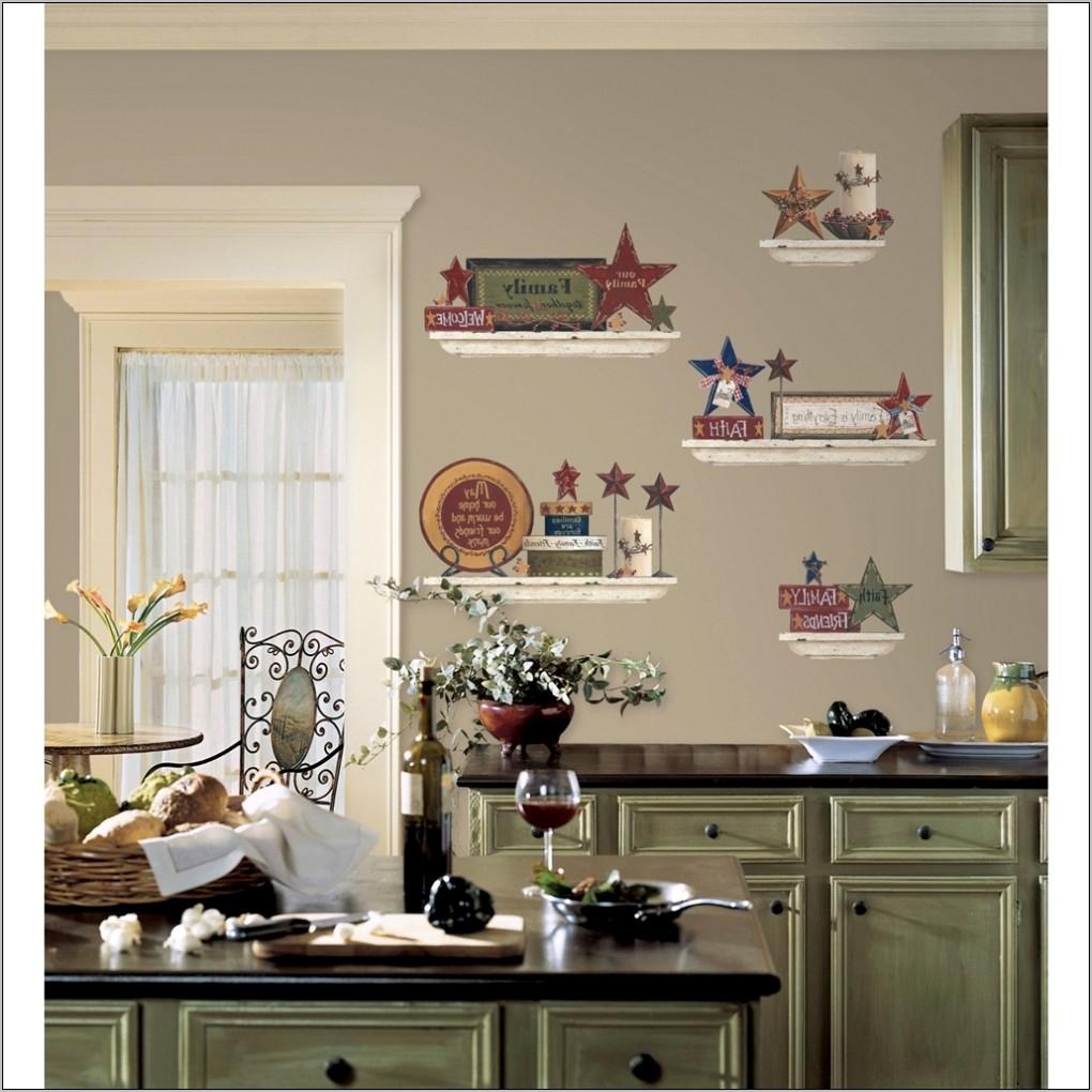 Decorating Large Kitchen Walls