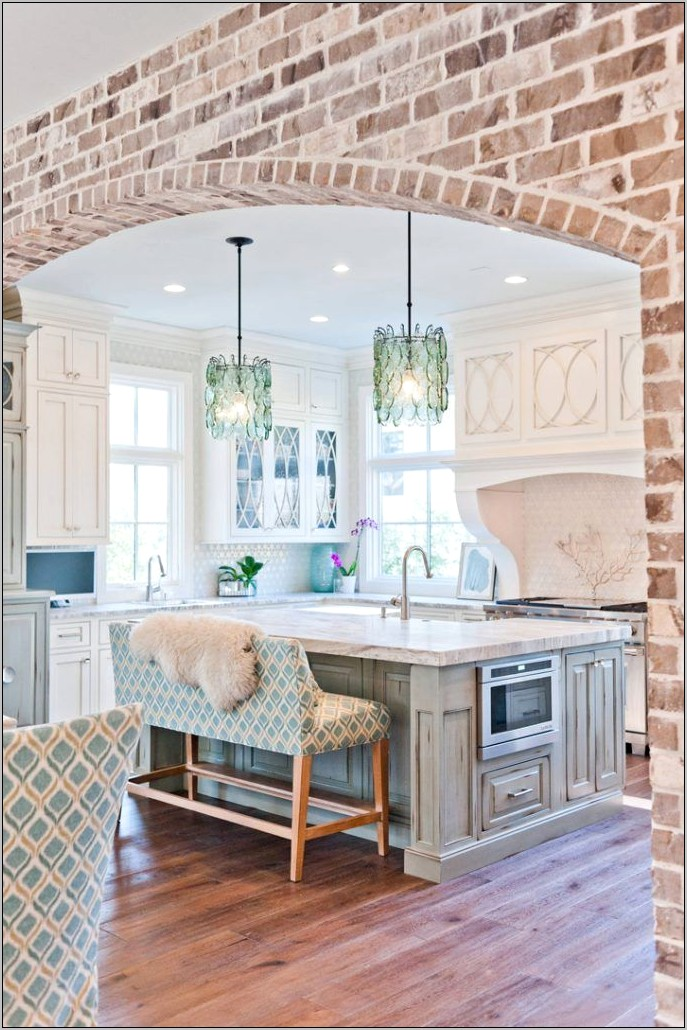 Decorating Over Kitchen Arch