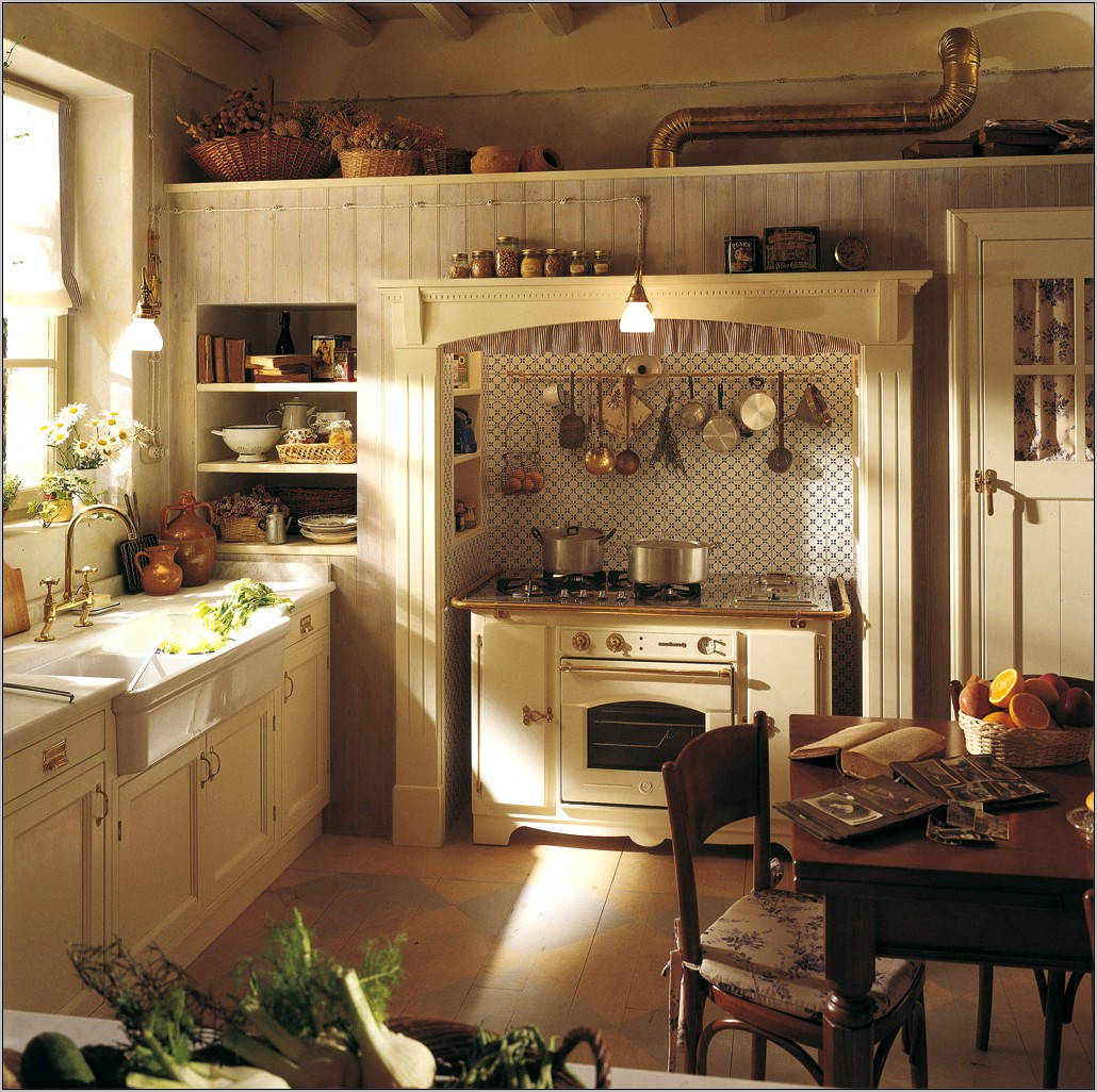 Decorating Small Country Kitchens