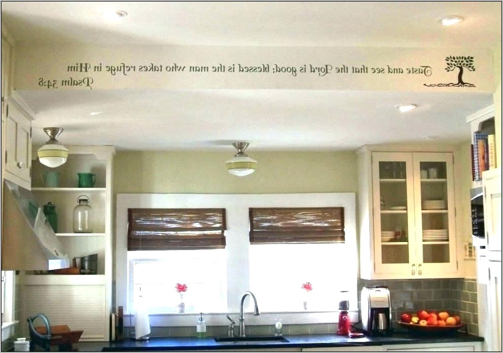 Decorating Soffits In The Kitchen