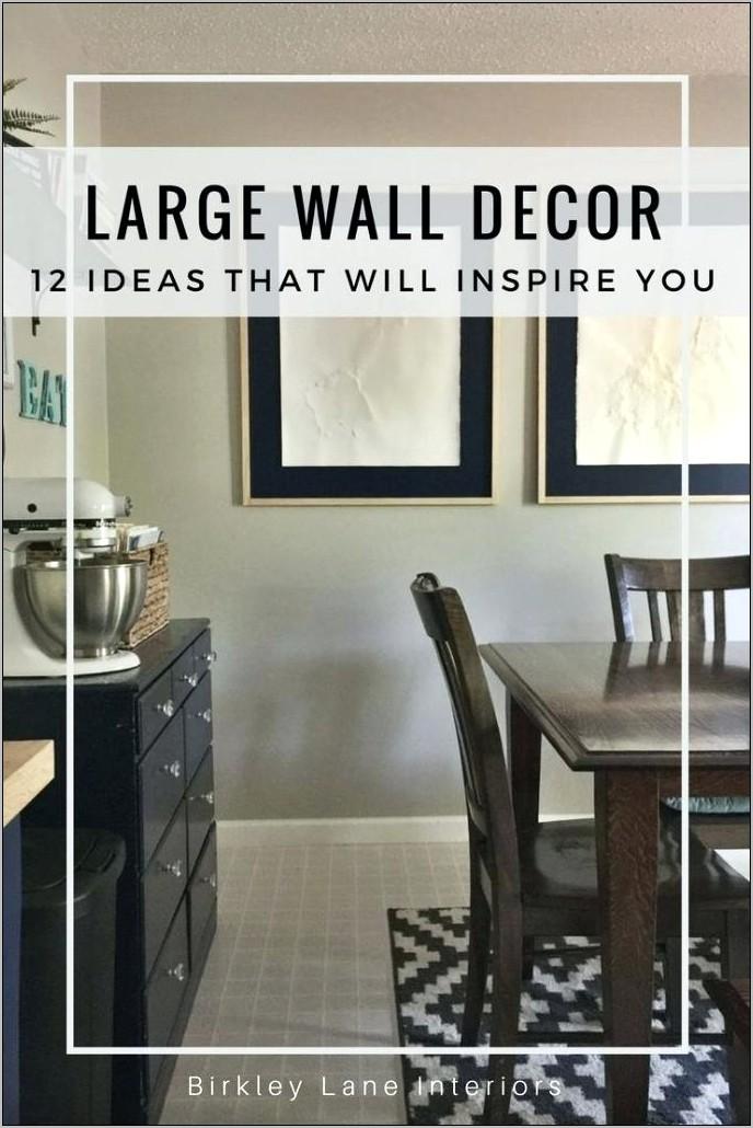 Decorating Tall Kitchen Walls
