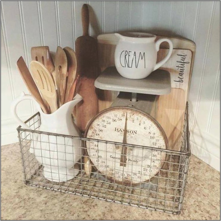 Decorating With Baskets In The Kitchen