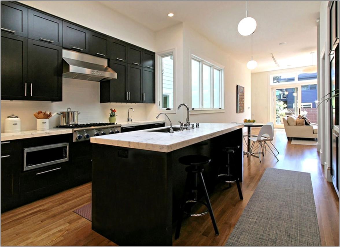 Decorating With Dark Wood Kitchen Cabinets
