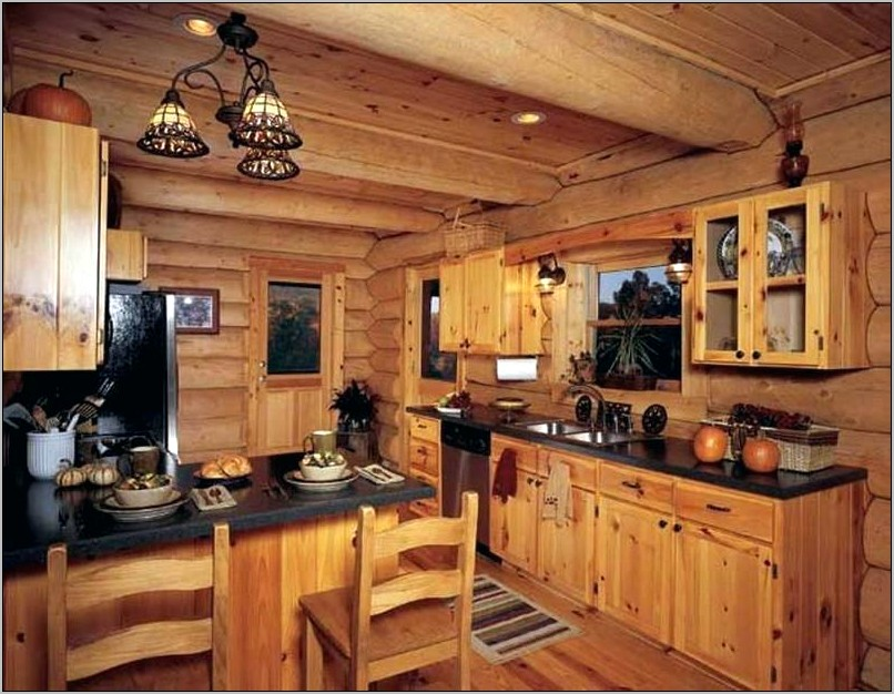 Decorating With Knotty Pine Kitchen Cabinets