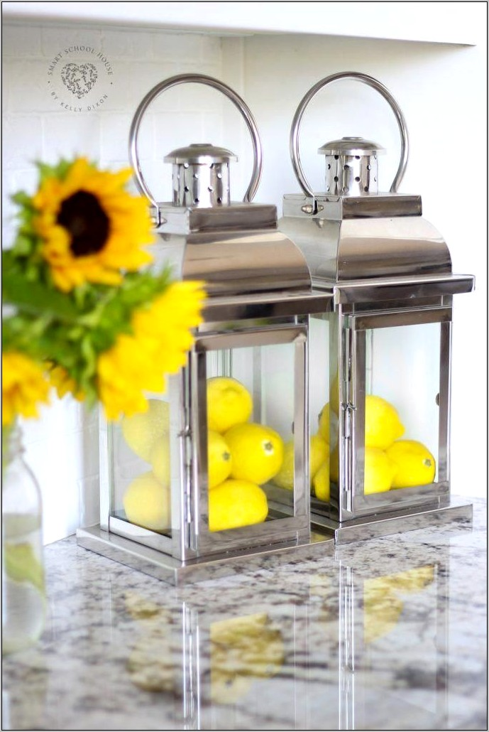 Decorating With Lemons In The Kitchen