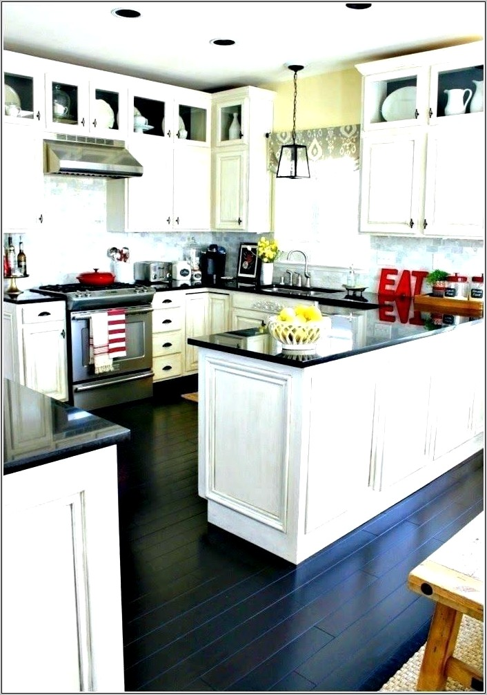 Decorating With Red Accents In Kitchen