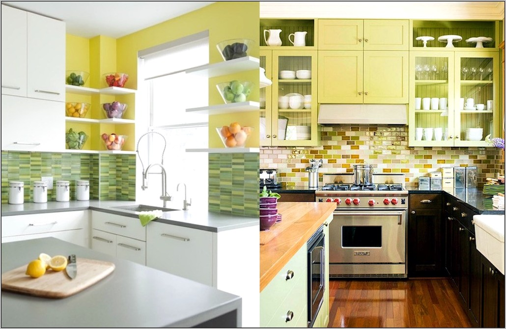 Decorating With Yellow In Kitchen