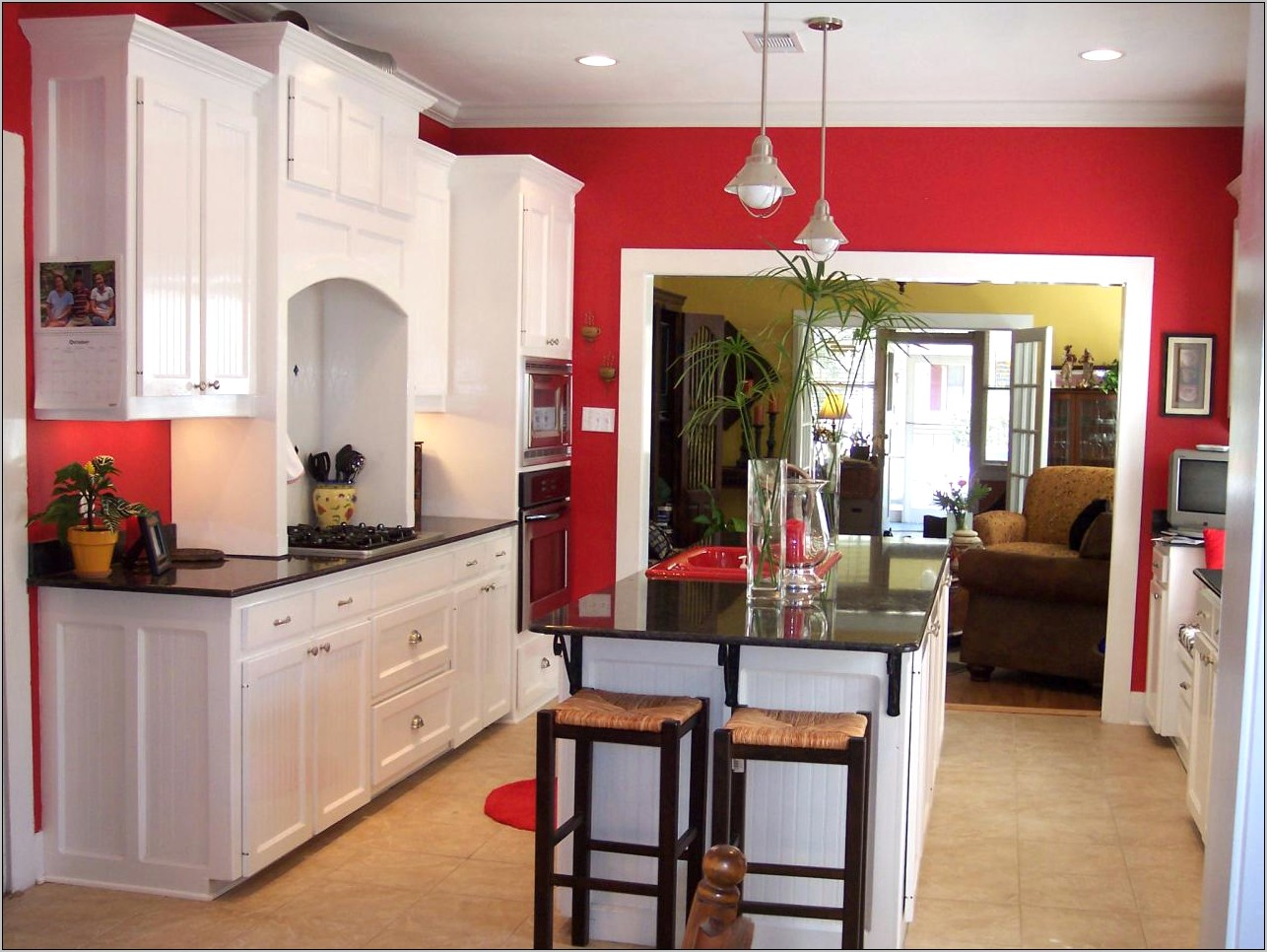 Decorating Your Kitchen With Red Design