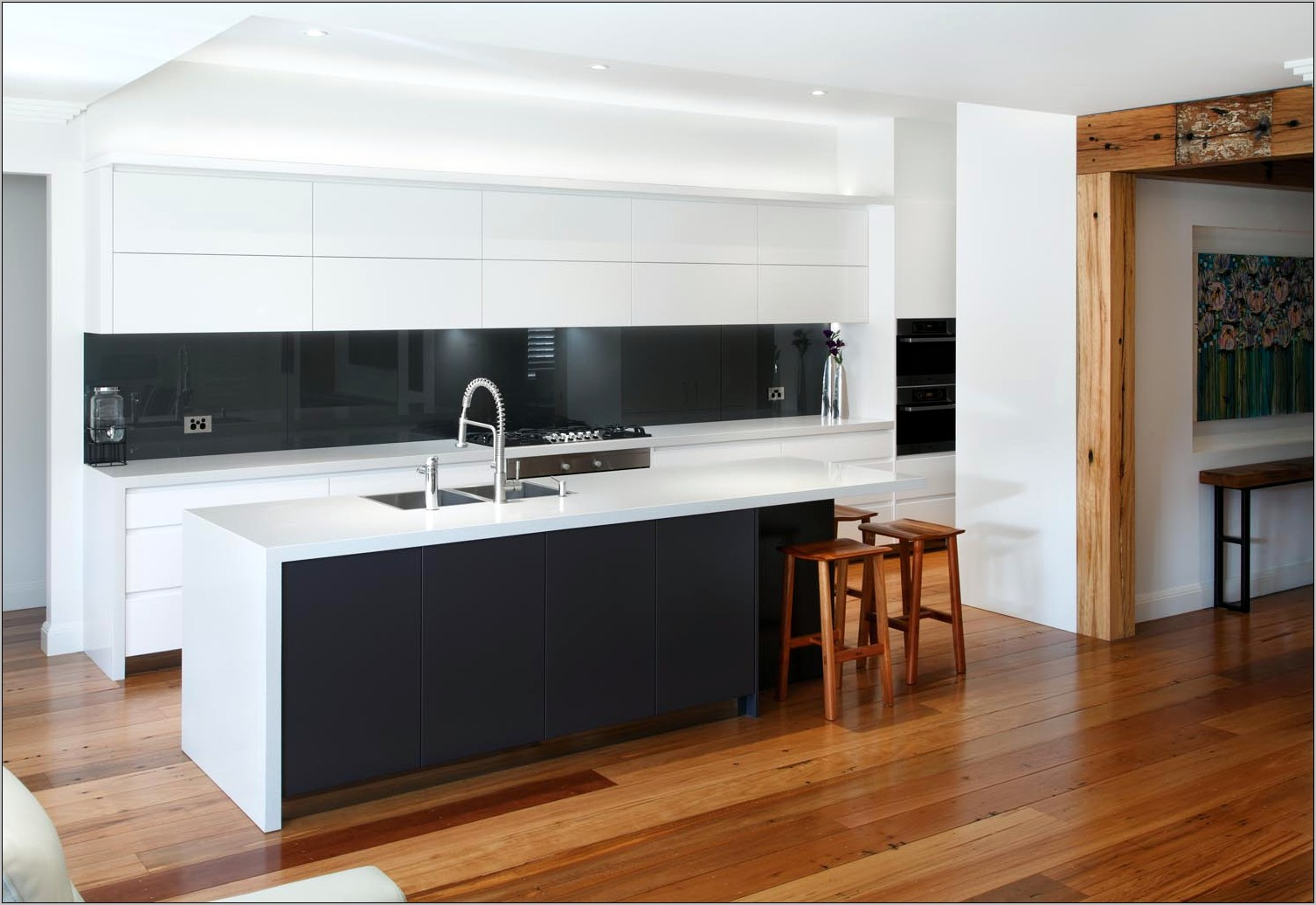 Decoration For Kitchen Modern White Kitchen