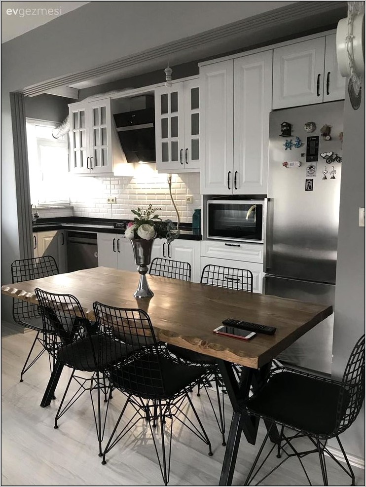 Decoration Of Open Kitchen