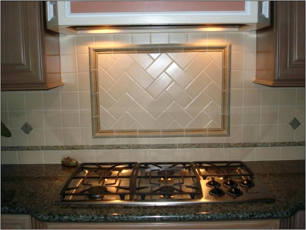 Decorative Accent Tile For Kitchen Backsplash