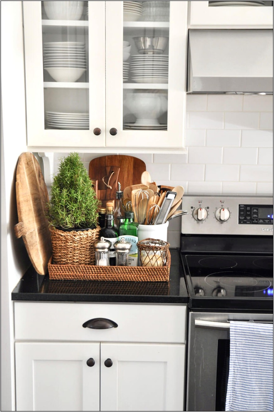 Decorative Baskets For Kitchen Counter Tops Ideas