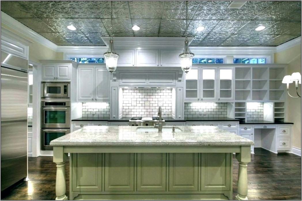 Decorative Ceilings In Kitchens