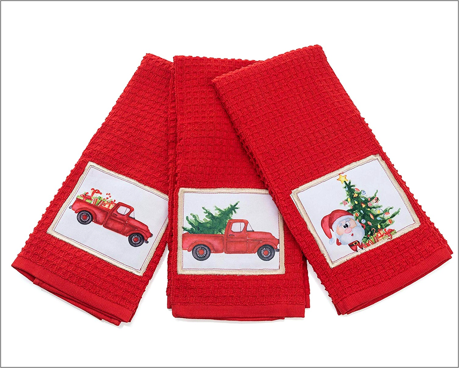 Decorative Christmas Kitchen Towels