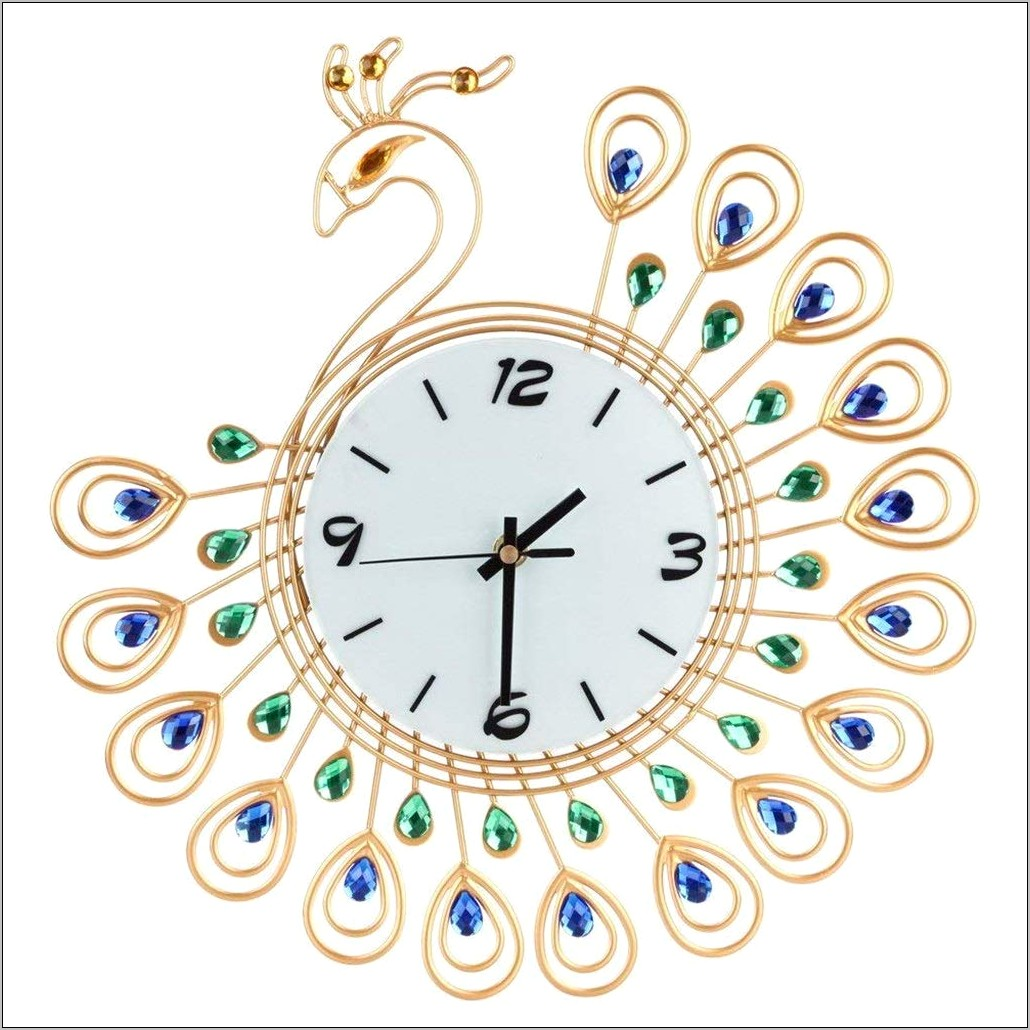 Decorative Clock For Kitchen