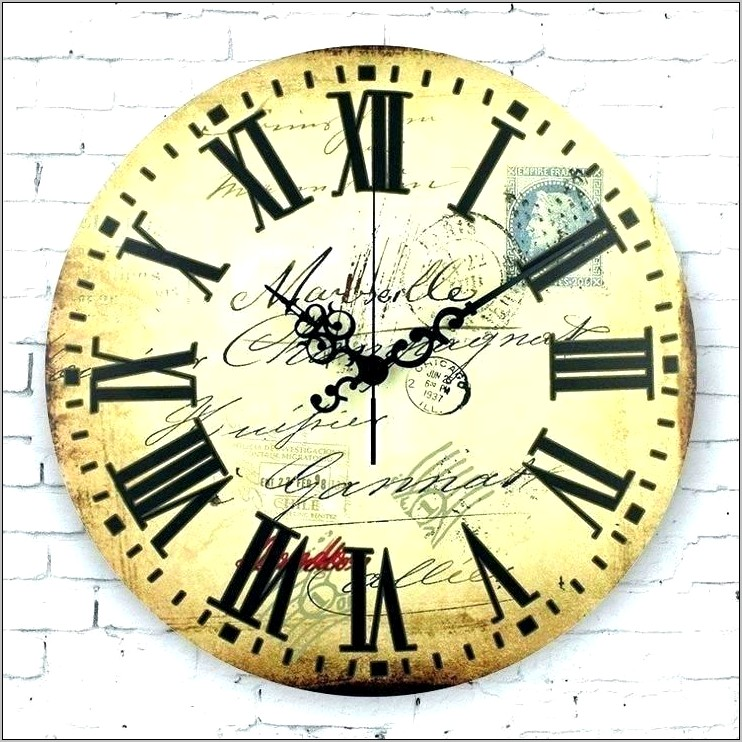 Decorative Clocks For Kitchen