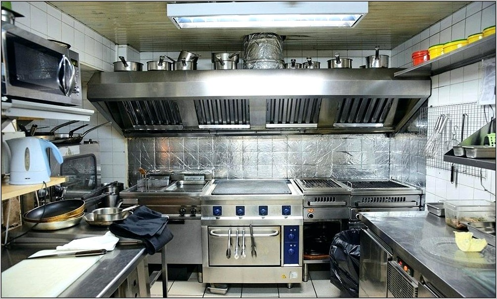 Decorative Commerical Kitchen Hoods
