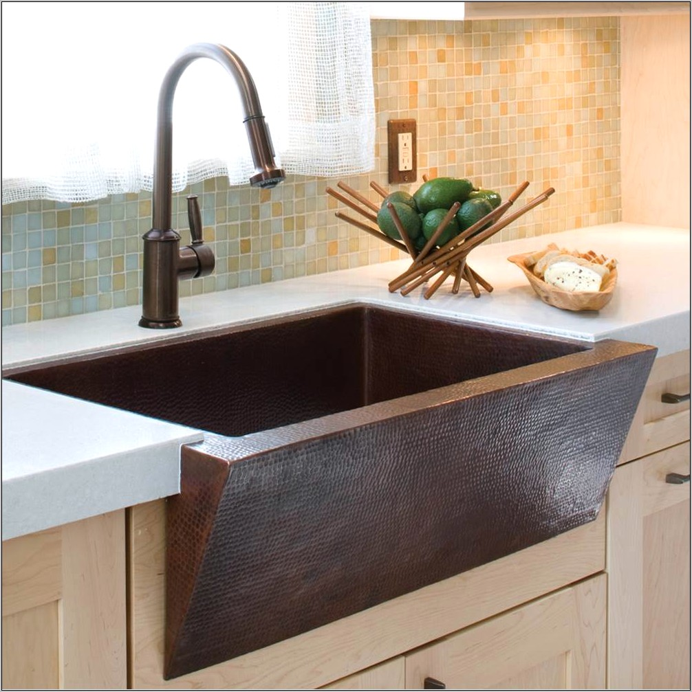 Decorative Copper Kitchen Sinks