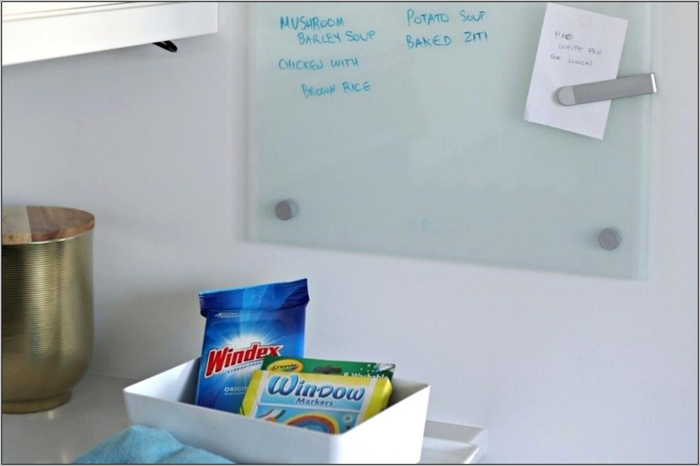 Decorative Dry Erase Board For Kitchen