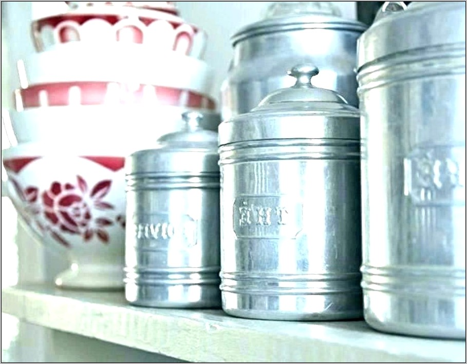 Decorative Glass Canisters For Kitchen
