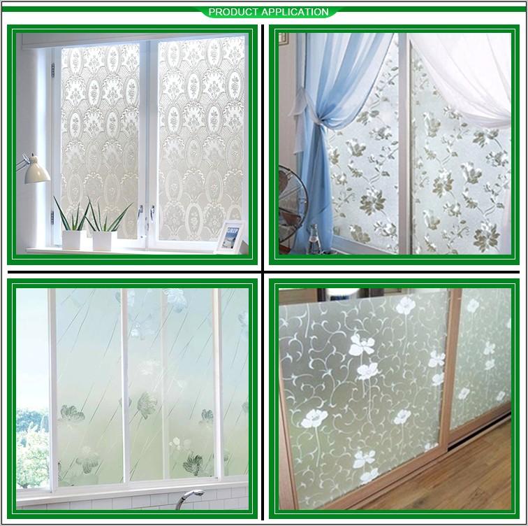 Decorative Glass Film Designs For Kitchen Cabinets