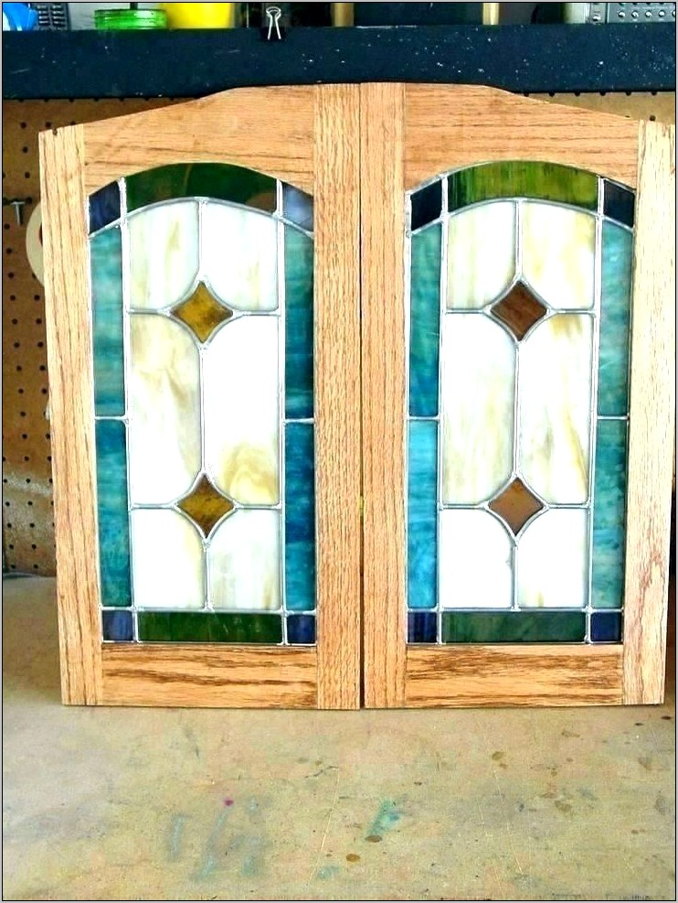 Decorative Glass For Kitchen Cabinet Doors