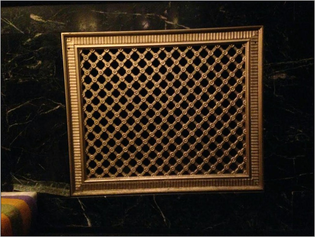 Decorative Grilles For Kitchen Cabinets