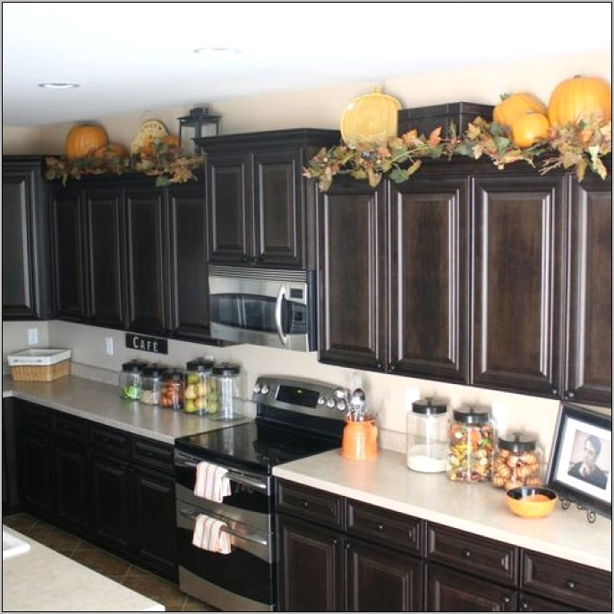 Decorative Ideas For Kitchen Cabinets Tops