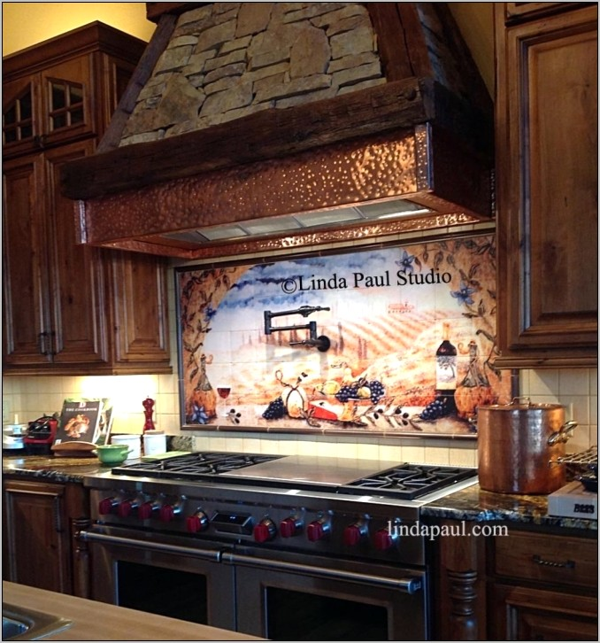 Decorative Kitchen Backsplash Murals