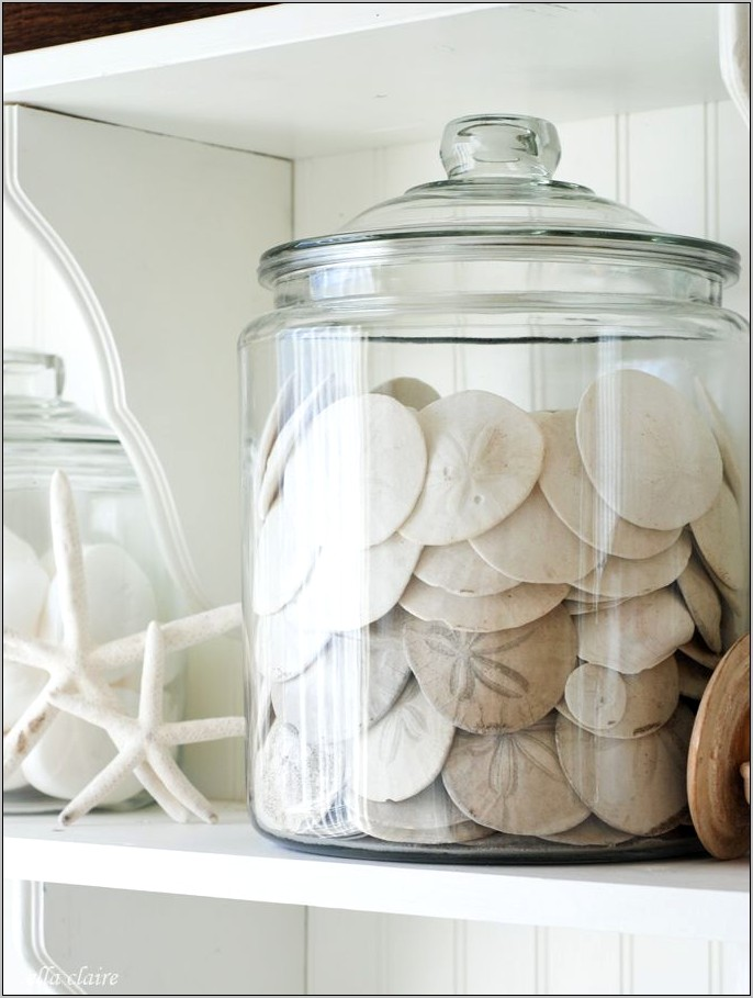 Decorative Kitchen Containers Sea Shell