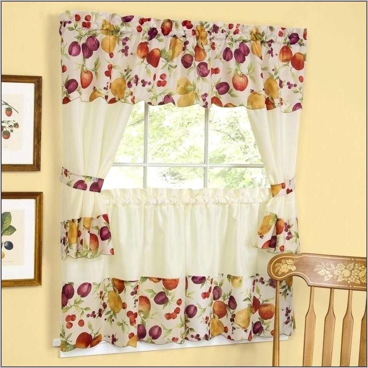 Decorative Kitchen Curtain Sets