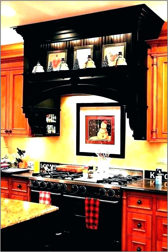 Decorative Kitchen Island Hoods