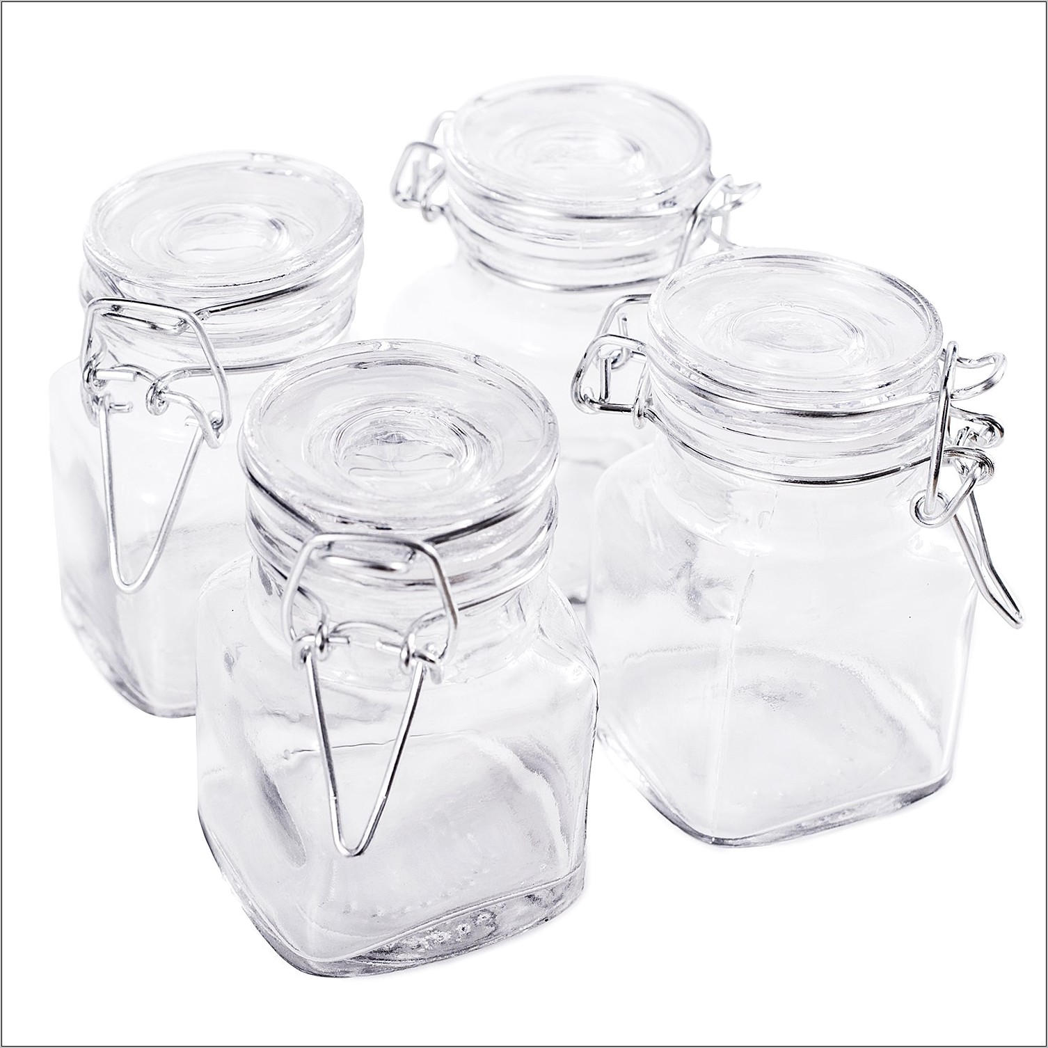 Decorative Kitchen Jars Small Glass For Syrup
