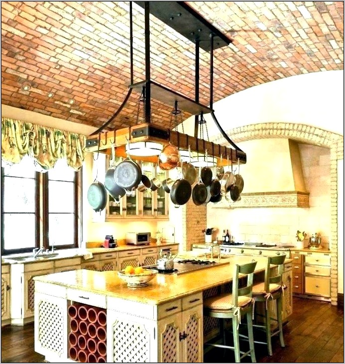 Decorative Kitchen Pot Racks