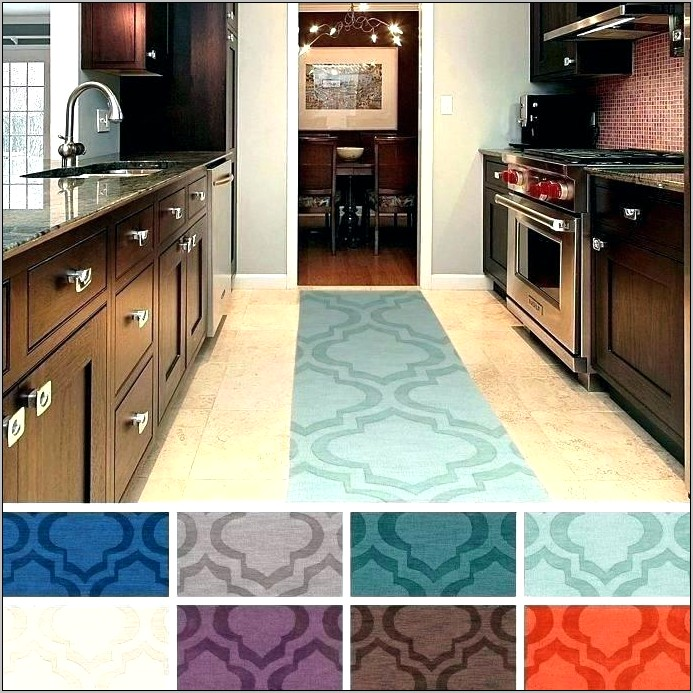 Decorative Kitchen Rubber Floor Mats