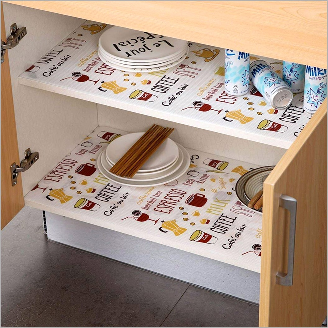 Decorative Kitchen Shelf Liner