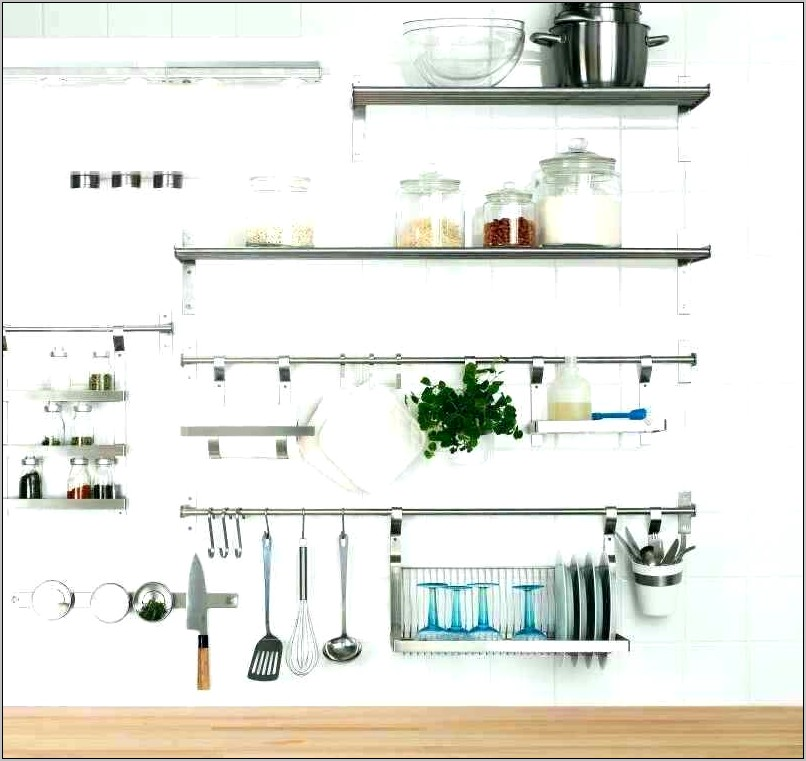 Decorative Kitchen Shelving Units