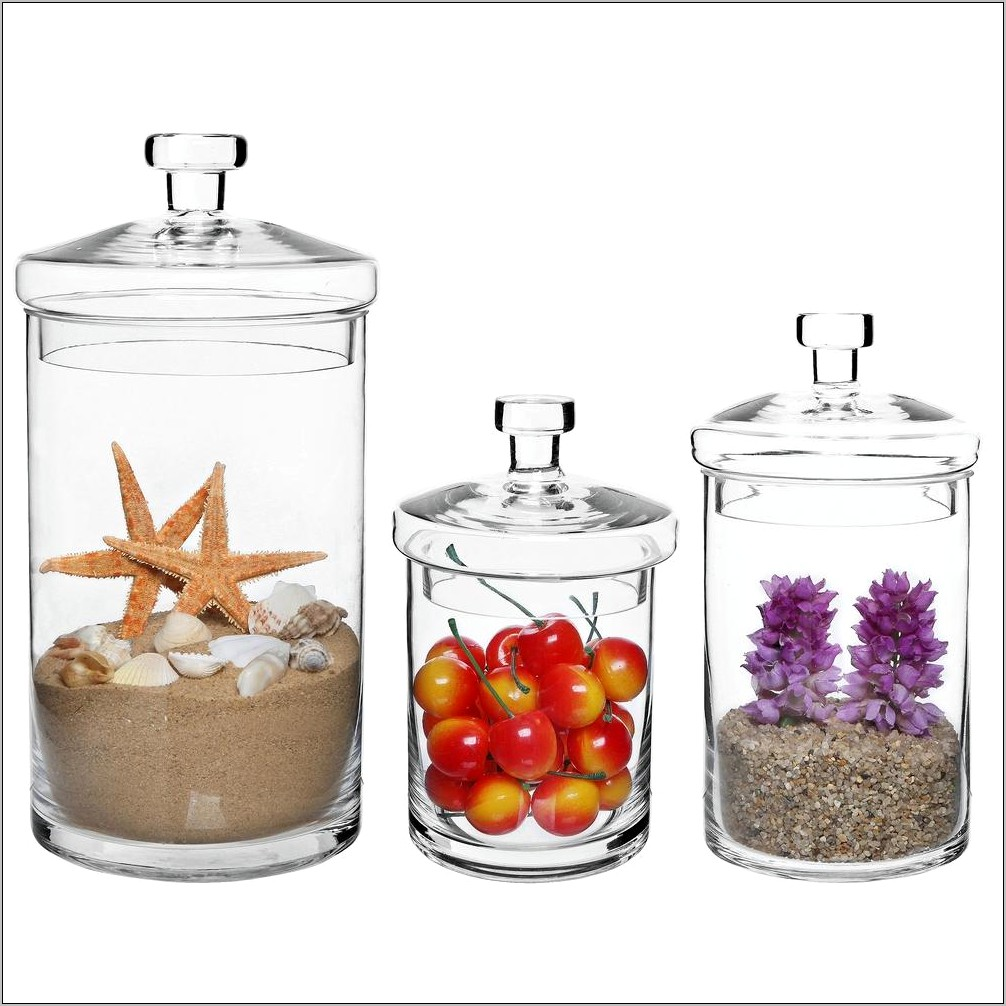 Decorative Kitchen Storage Canisters