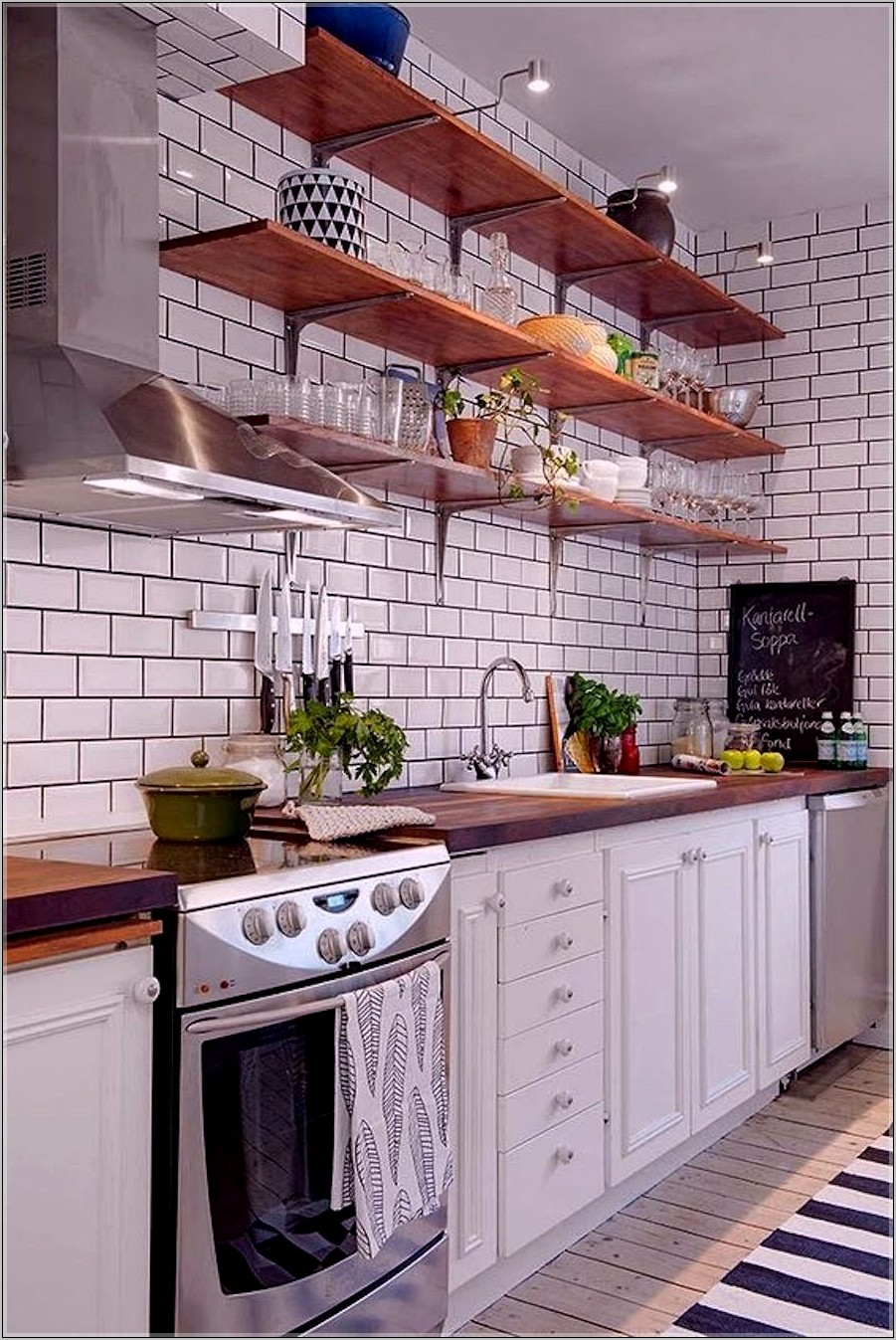 Decorative Kitchen Storage Shelves