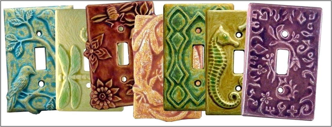 Decorative Kitchen Switch Plate Covers