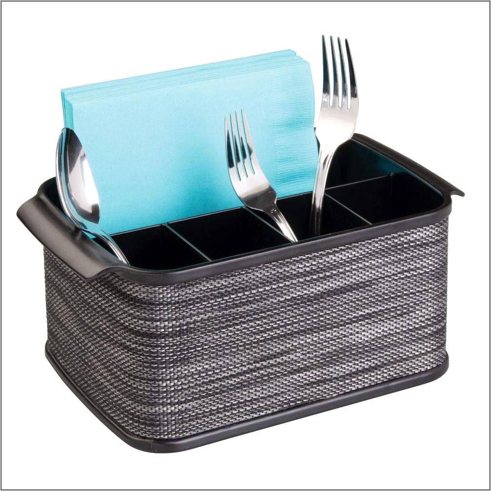 Decorative Kitchen Utensil Baskets