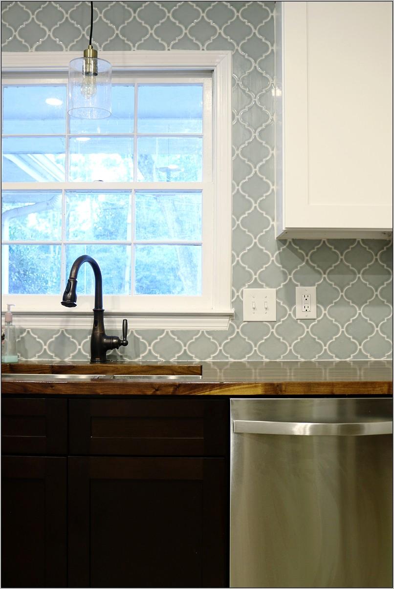 Decorative Molding Around Kitchen Window