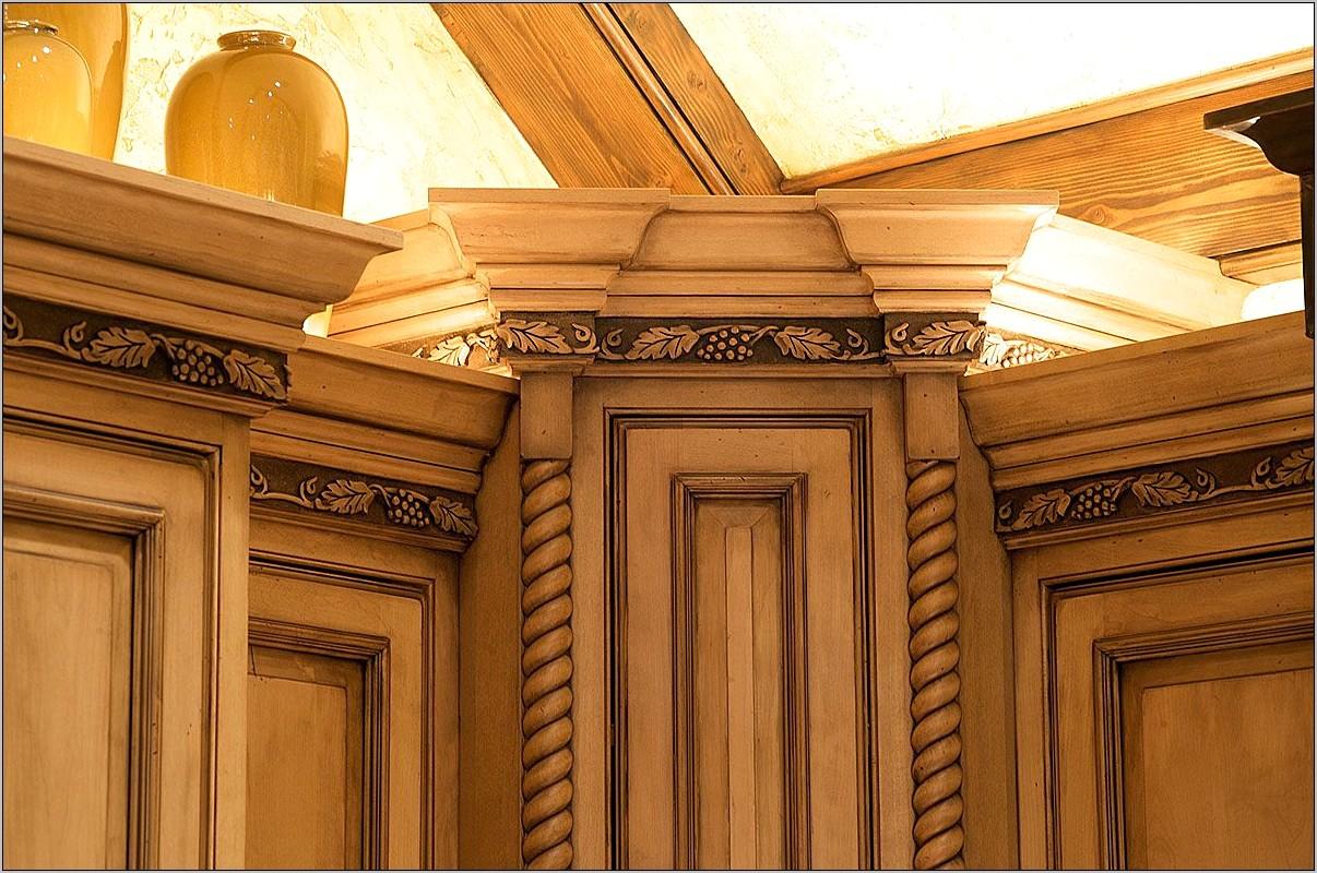 Decorative Moulding Oak For Kitchen Cabinet