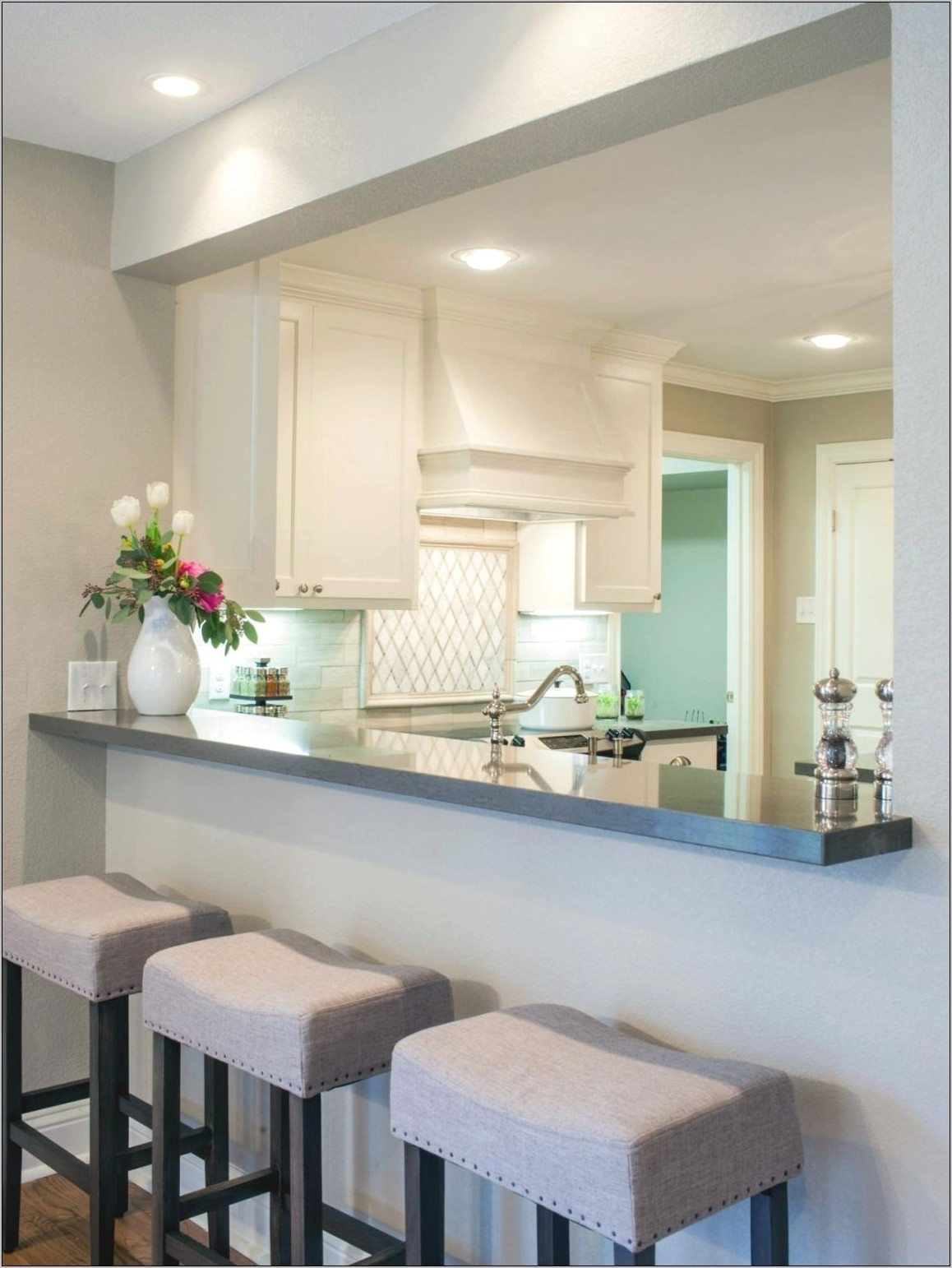 Decorative Passthroughs In The Kitchen