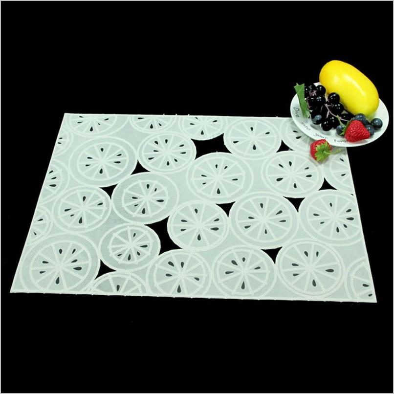 Decorative Plastic Kitchen Placemats