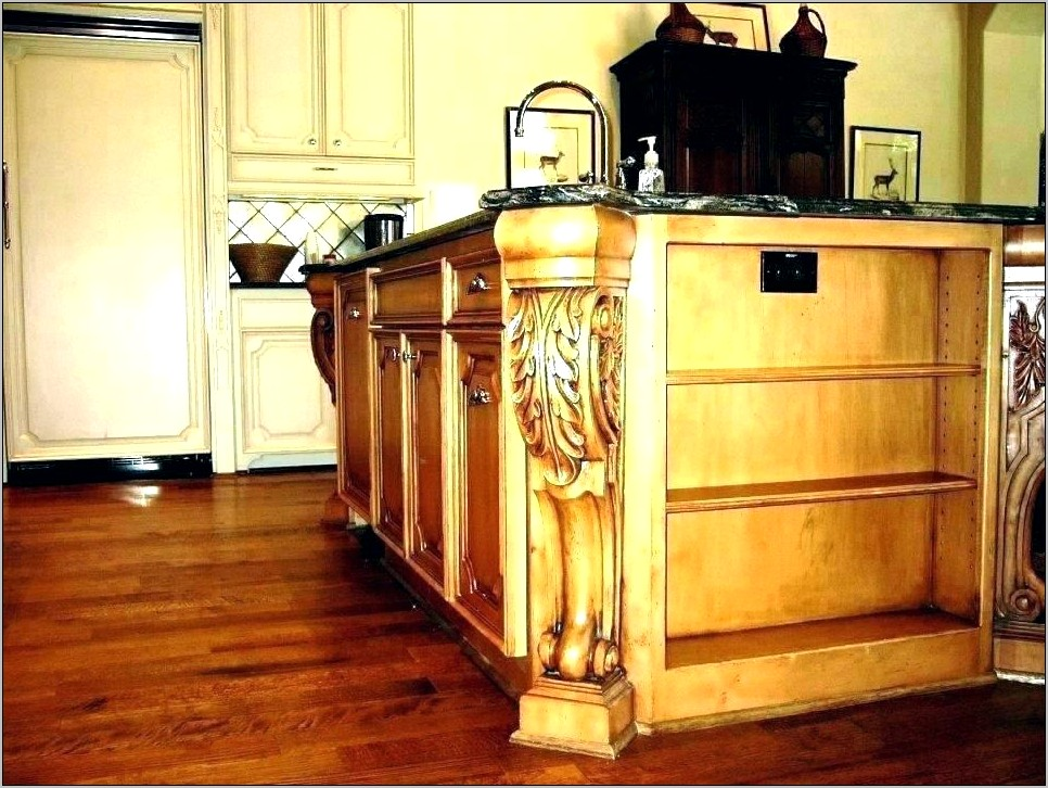 Decorative Posts For Kitchen Island