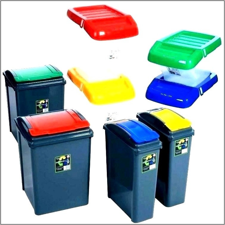 Decorative Recycle Bins For Kitchen