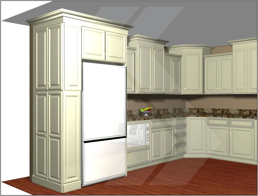 Decorative Side Panels For Kitchen Cabinets