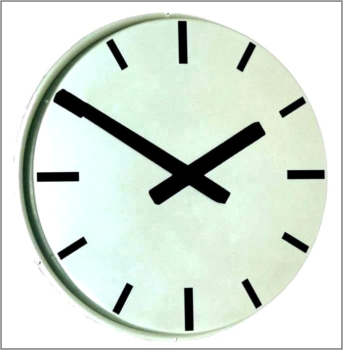 Decorative Small Diameter Kitchen Wall Clocks